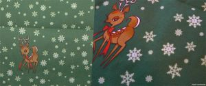 Deer Fabric by JadeGordon