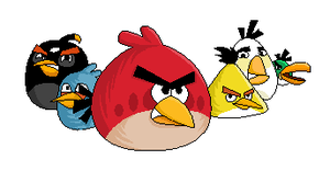 Angry Birds by Itabia