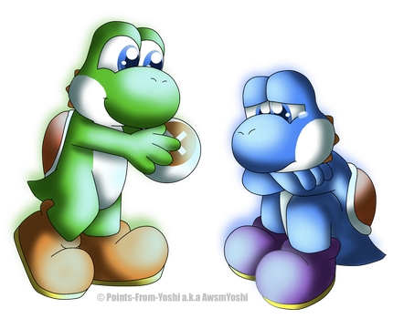 Don't be Sad :c by Points-From-Yoshi