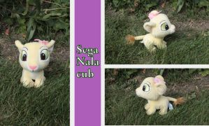 Japanese Nala cub by SEGA by Laurel-Lion