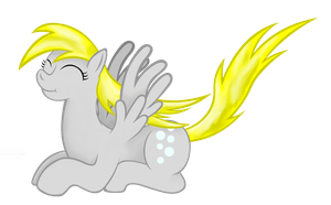 Smiling Derpy Hooves by MAJORA64