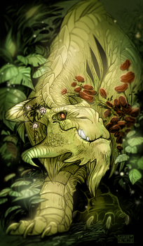 In the wilds (colored) by SHADE-ShyPervert