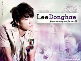 Wallpaper Donghae by SindyG