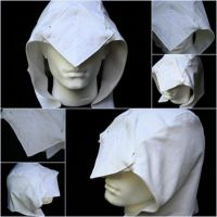 Connor Kenway Hood WIP by Misikat