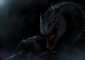 Indominus Rex by TheRisingSoul