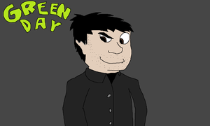 AT - Billy Joe Armstrong of Green Day by Jeremy-the-Blockhead