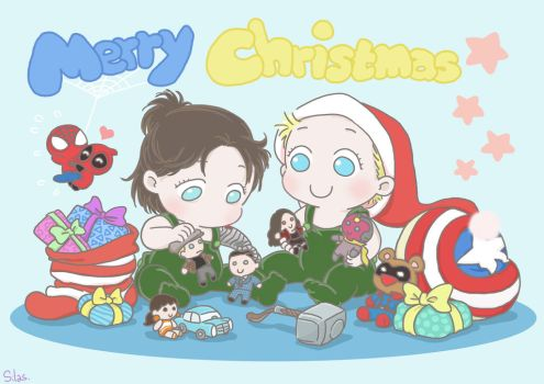 2016 Merry Christmas Card by SilasSamle