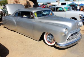 Silver Flaked Chevy by DrivenByChaos