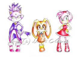 Blaze.Cream.Amy by snickerdoots