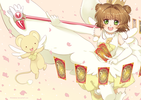 Sakura Card Captor by RikkuHanari