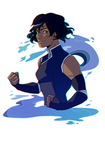 Legend of Korra - Korra by Krederic