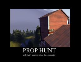 Prop Hunt Demotivational 1 by Py-Bun