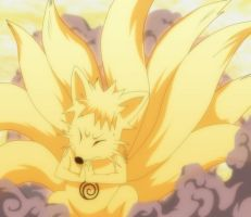 Naruto attempting Full Nine-Tails Form by Zanpakuto-Leader
