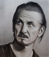 SEAN PENN drawing by b-Dedi