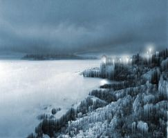 Iced landscape by Chatterly
