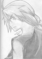Another Edward Elric Pencil Shade by Anime-Kat2002