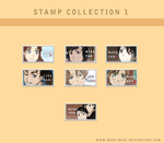 Stamp Collection 1 by Mari-m-Rose
