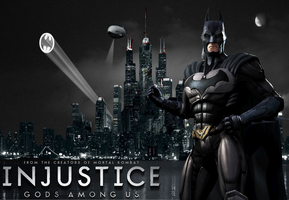 Injustice: Batman Wallpaper by NerdyOwl299