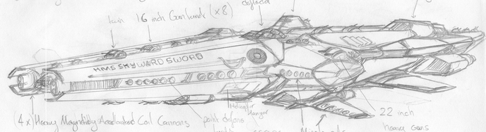 Dreadnaught Vessel ( Updated) by chaos-sandwhich