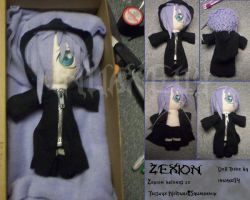 Zexion Plushie by Alpha-Assassin