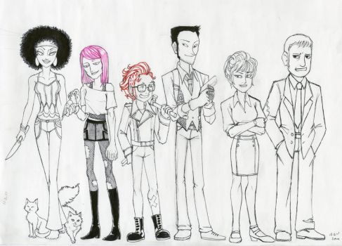 the usual Suspects by devilkitten1