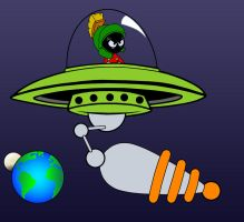 Marvin the Martian by profkilljoy7z