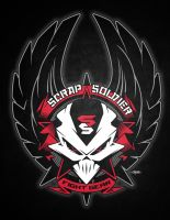 Scrap Soldier Winged Graphic by BurningEyeStudios
