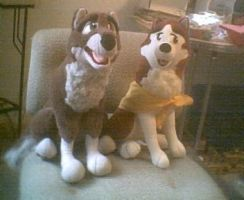 My First two plushies by Aleu45