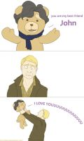 You are my best friend,John by miova