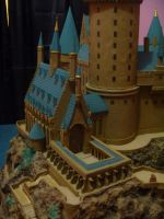 Hogwarts Castle Paper Model - The Sneak Peak by ana-wandmaker