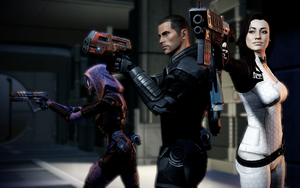 Mass Effect 2 Angels by BlackSheep64