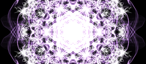 white and purple star i think by the-awesomest-one