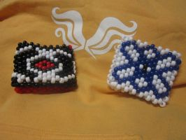 Dave and Jade Cuff Bracelets by Cornflake-Chan
