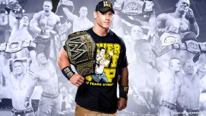 John Cena Future 11 time WWE Champion Wallpaper by Timetravel6000v2