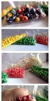 Polymer Fruit Canes and Beads by Sayuri-Lilly