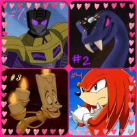 MOST FAV CHARACTERS IN THE WHOLE WORLD! by PlazmawingXKnockout