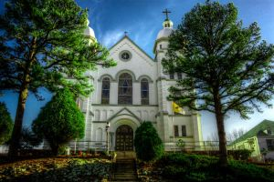 Hot Springs Religion HDR by joelht74