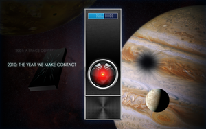 2010 Space Odyssey Wallpaper by cow41087