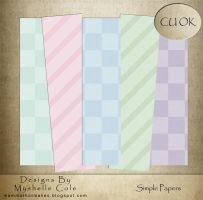 Simple Paper Pack by shelldevil