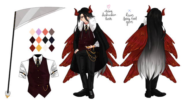 Demon / Angel (Batch special #4) by okita-adoptables