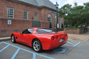 Red Corvette by IBelongToTheDoctor