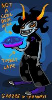 Gamzee is definitely not cool by Proxzee