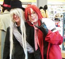 Grell and Undertaker by RayniaSky