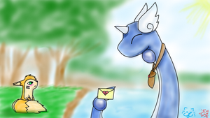Collab: Love Letter Delivery by ToxicSerpent