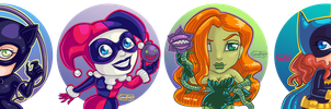 Gotham City Girls by SnowFright