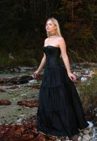 Black Dress 6 by Kuoma-stock