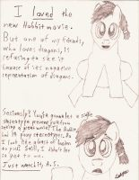 The Hobbit Reaction by CobaltBrony