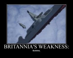 Britannia's Weakness. by inuyashaxandxkagome