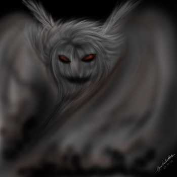Mothman by Hestia-Sama