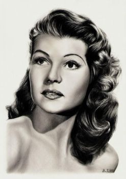 Rita Hayworth by tajus